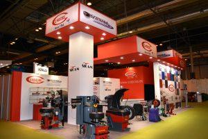 Stand empresarial para Cascos en Motortec
