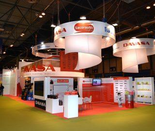 Stand empresarial Davasa en Motortec