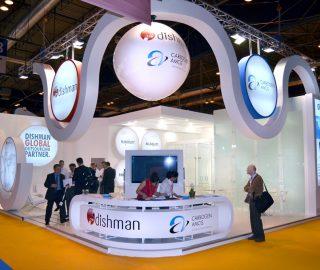 Stand de diseño para Dishman