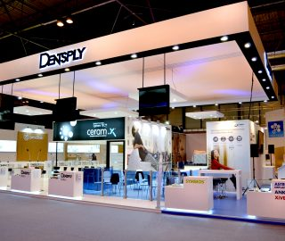 Stand diseño Dentsply