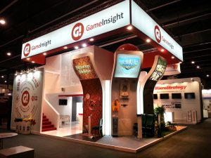Stand empresarial Game Insight