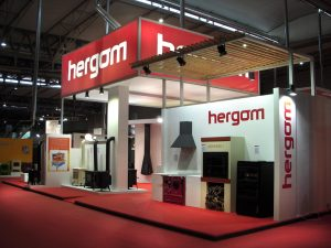 Stand empresarial Hergom