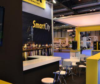 Stand modular Smart City en Tecma