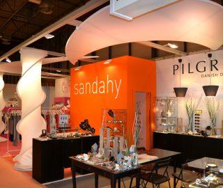 Stand de Sandahy en feria Exporeclam