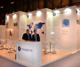 Stand empresarial Tazzetti