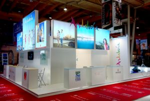Stand modular para Andalucía