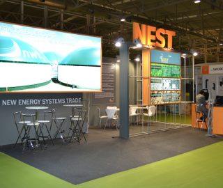 Stand empresarial para Nest