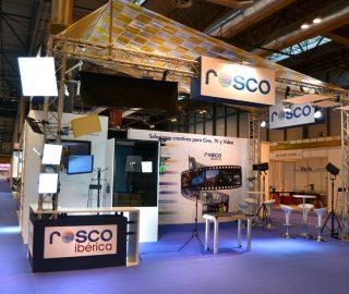 stand de diseño ROSCO