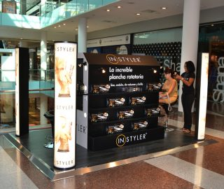 Stand centro comercial para Instyler