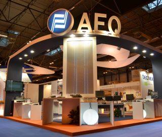 Stand diseño AEQ
