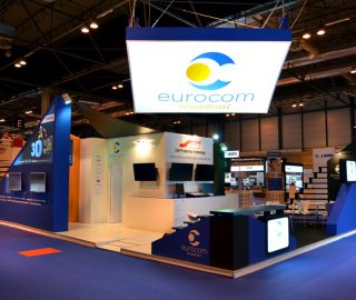Stand diseño Eurocom Broadcast