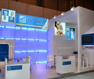 Stand diseño Radhex Implants