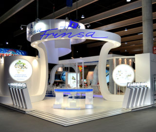 Diseño stand Frinsa