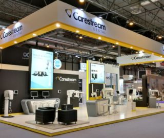 Stand Carestream Dental feria empresarial
